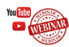 webinar with play button